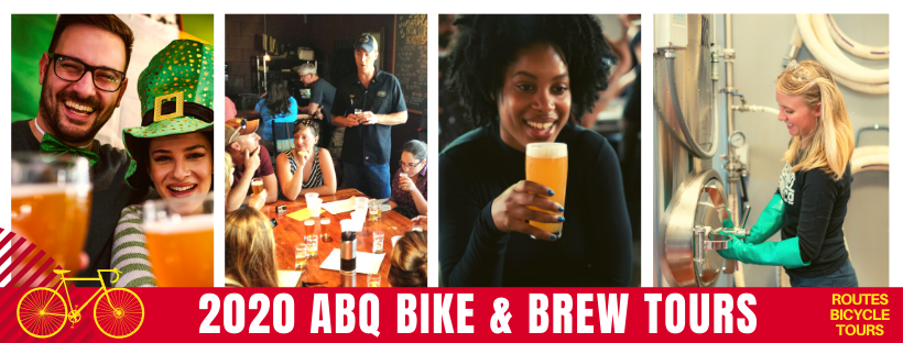 Routes Bicycle Tours Albuquerque Bike and Brew Tour