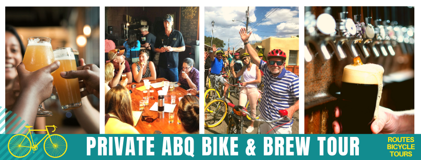 Routes Bicycle Torus & Rentals Private ABQ Bike and Brew Tour