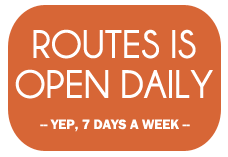 Routes Bicycle Rentals in Albuquerque is open daily.