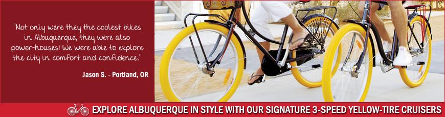 Routes Rentals & Tours, Albuquerque Bicycle Rentals