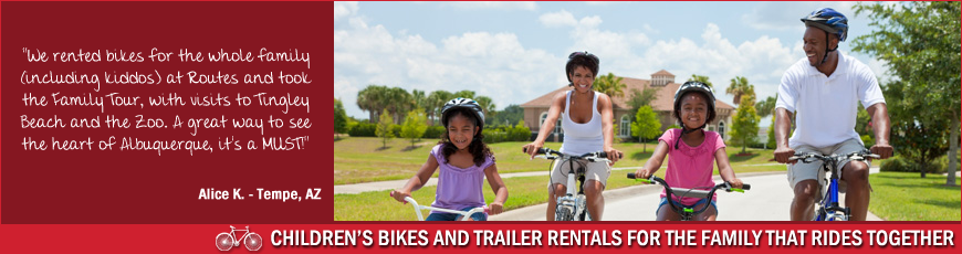 Kid&#8217;s Bikes &amp; Trailers