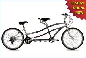 Albuquerque Bicycle Rentals Tandem Bike Rentals from Routes Rentals & Tours
