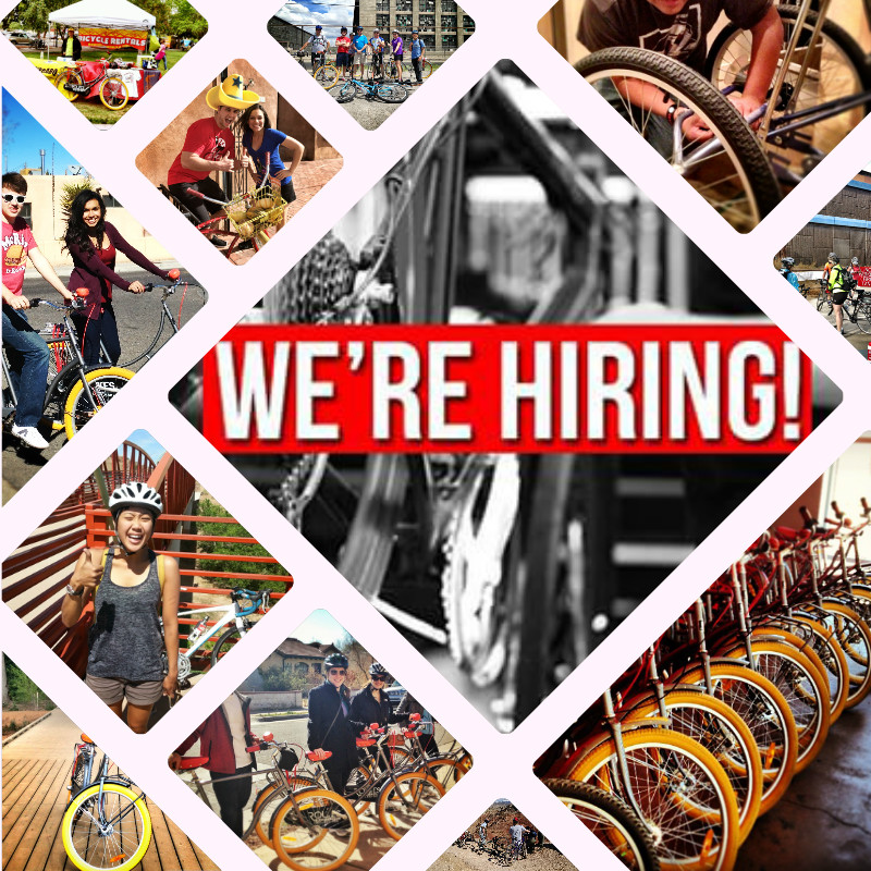 Routes Bicycle Tours & Rentals is hiring! Get Paid to Ride your Bike!