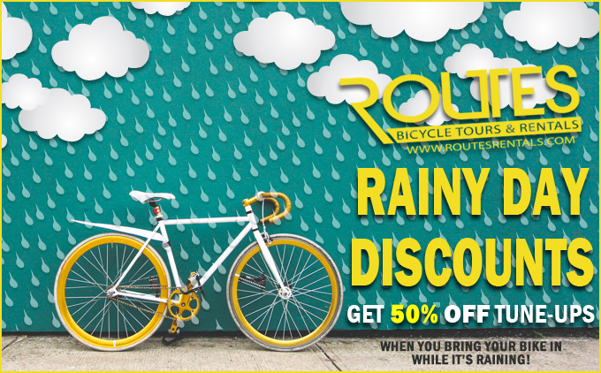 Rainy Day Discounts on Services!!