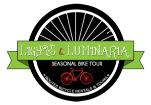ABQ's Newest Tradition! The Lights & Luminaria Bike Tour in Albuquerque, Routes Bicycle Rentals & Tours