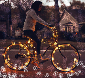 Routes Rentals & Tours - Albuquerque Luminaria Holiday Bike Tour