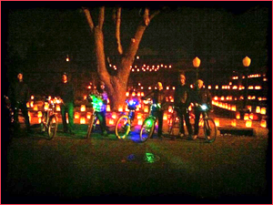 Lights Amp Luminarias Bike Tour Routes Bicycle Tours