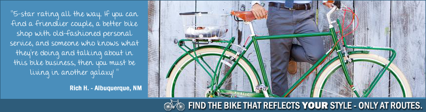 Buy Bikes | Routes Bicycle Tours & Rentals, Inc