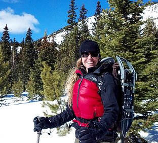 routes snowshoe tours happy customer albuquerque