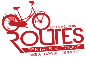Routes Bicycle Tours & Bike Rentals Logo