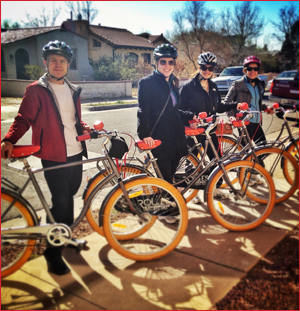 Team Building Bike Tours and Events available only at Routes Bicycle Rentals & Tours in Albuquerque, New Mexico