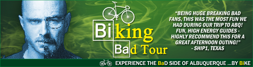 Breaking Bad Tours of Albuquerque By Bike Routes Bicycles