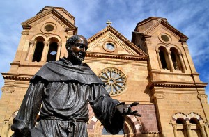 New-Mexico-Santa-Fe-Cathedral-Basilica-St-Francis-of-Assisi