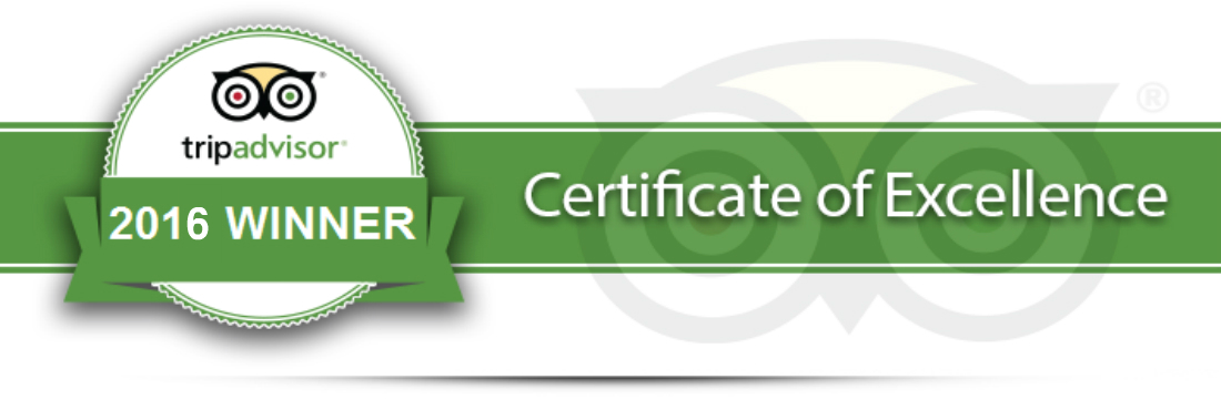Routes Wins TripAdvisors Certificate of Excellence for a 3rd year in a row