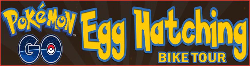 Pokémon Go Egg-Hatch and Hunt Bike Tour