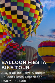 Balloon Fiesta Bike Tours Albuquerque New Mexico