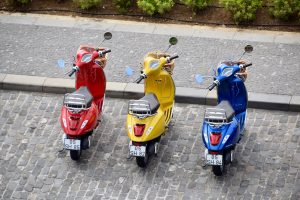 Scooter and Moped rentals at routes bicycle tours and rentals santa fe new mexico
