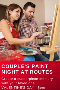 Routes Bicycle Tours Valentine's Couples Paint Night