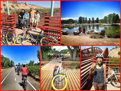 Routes Bicycle Tours and Rentals along the Rio Grande Bosque River Trail