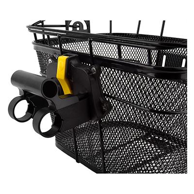 Image result for Topeak Fixer 3 Basket Mount For Wire Front Basket.